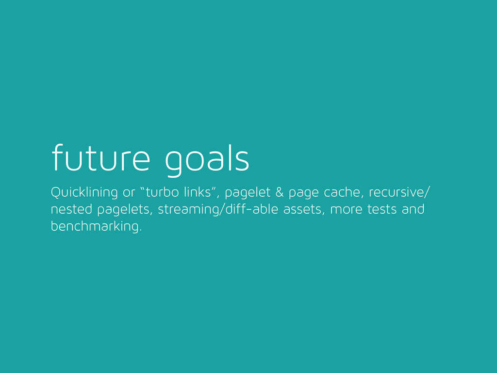 """future goals Quicklining or """"turbo links"""", page..."""