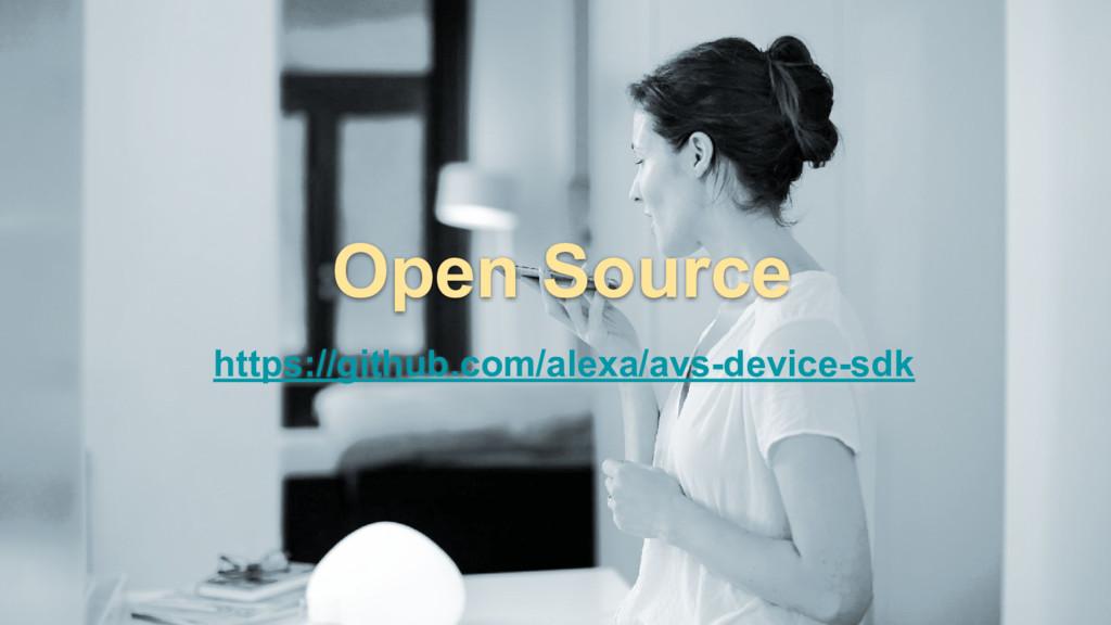 https://github.com/alexa/avs-device-sdk Open So...