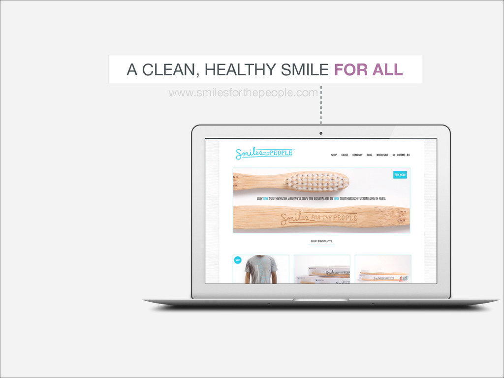 A CLEAN, HEALTHY SMILE FOR ALL www.smilesforthe...