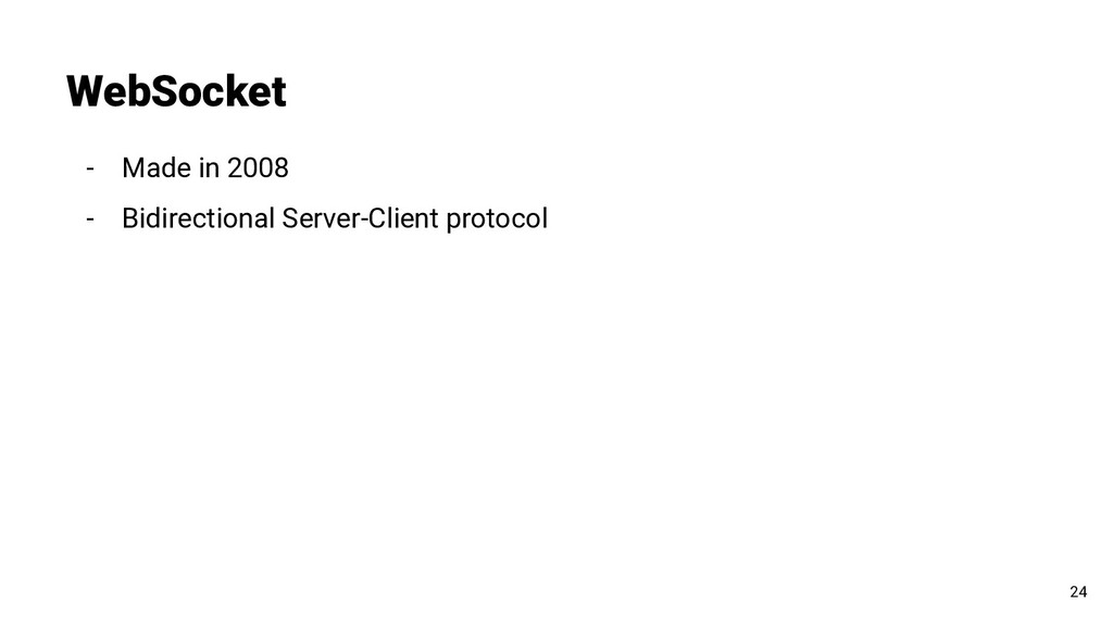 - Made in 2008 - Bidirectional Server-Client pr...