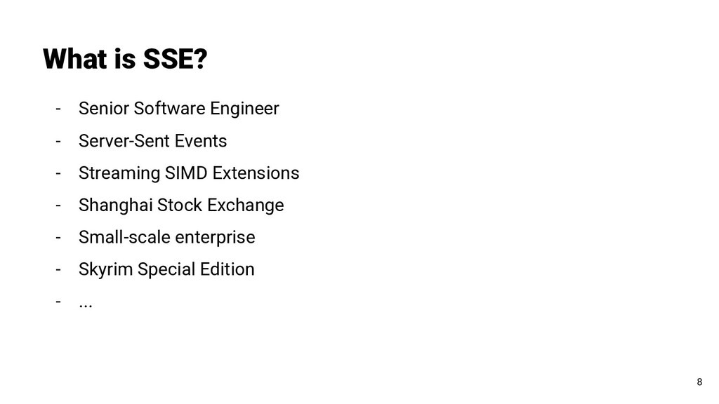 - Senior Software Engineer - Server-Sent Events...