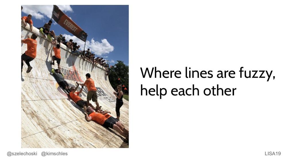 LISA19 @szelechoski @kimschles Where lines are ...