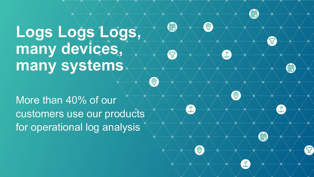 Logs Logs Logs,  many devices, many systems M...