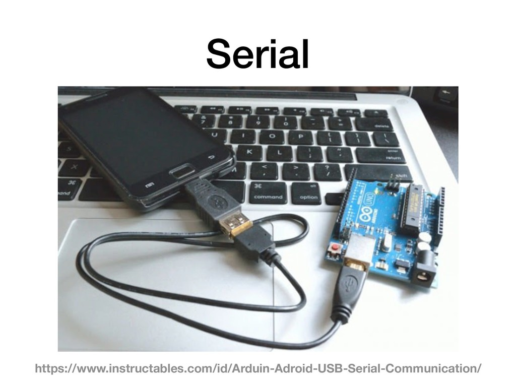 Serial https://www.instructables.com/id/Arduin-...