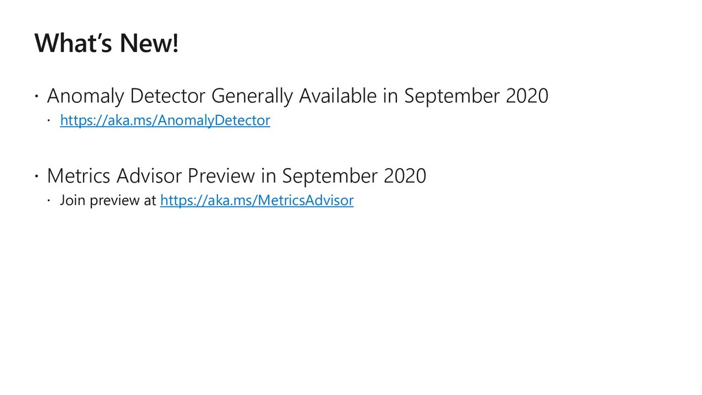 What's New!  Anomaly Detector Generally Availa...