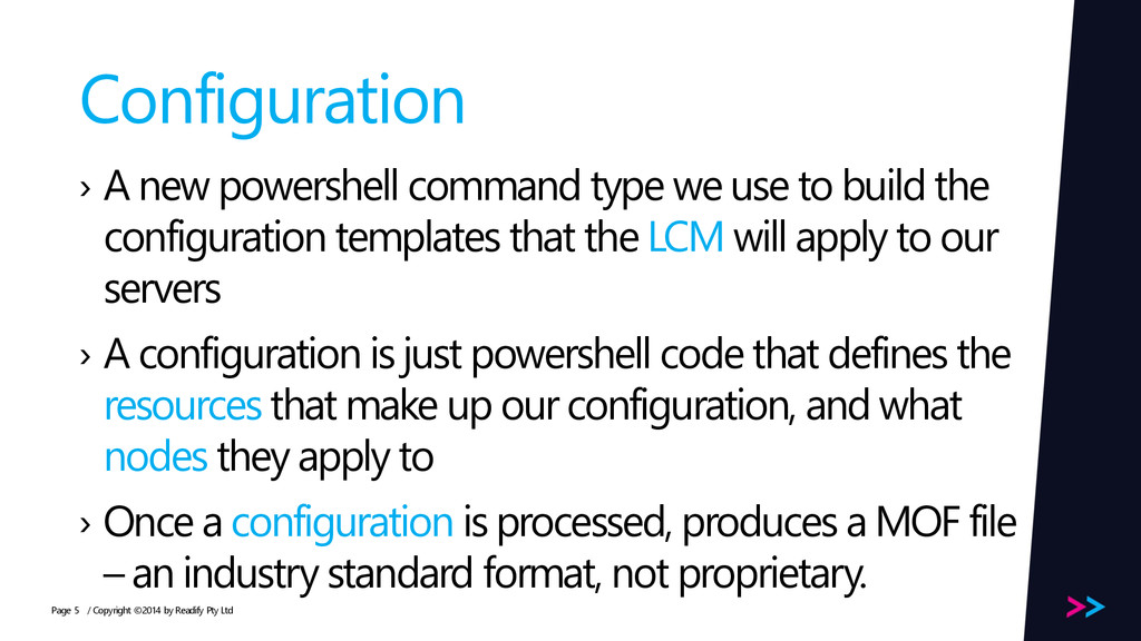 Page Configuration › A new powershell command t...