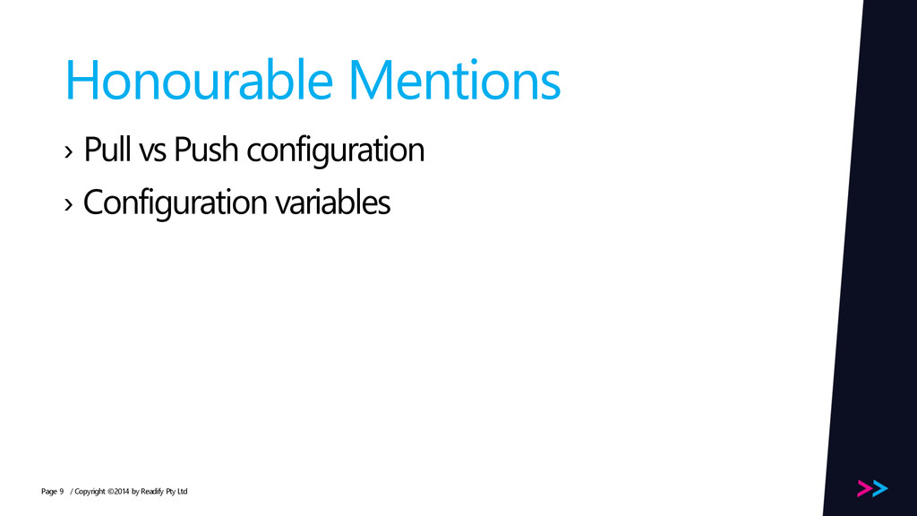 Page Honourable Mentions › Pull vs Push configu...