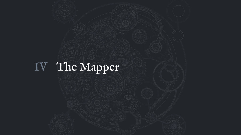 The Mapper IV
