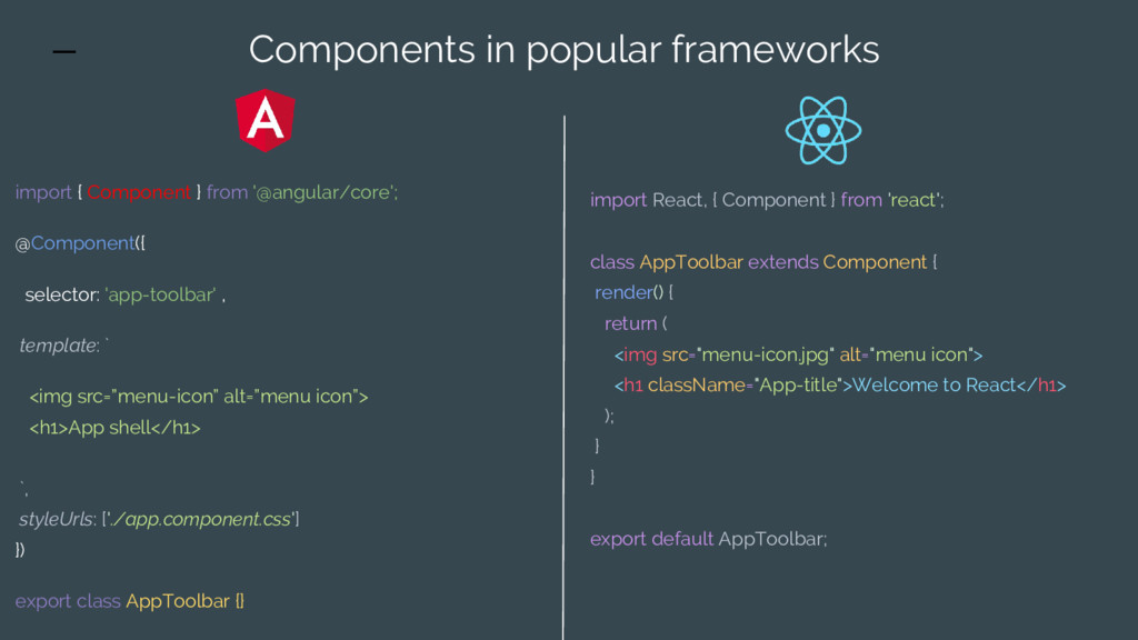 import React, { Component } from 'react'; class...