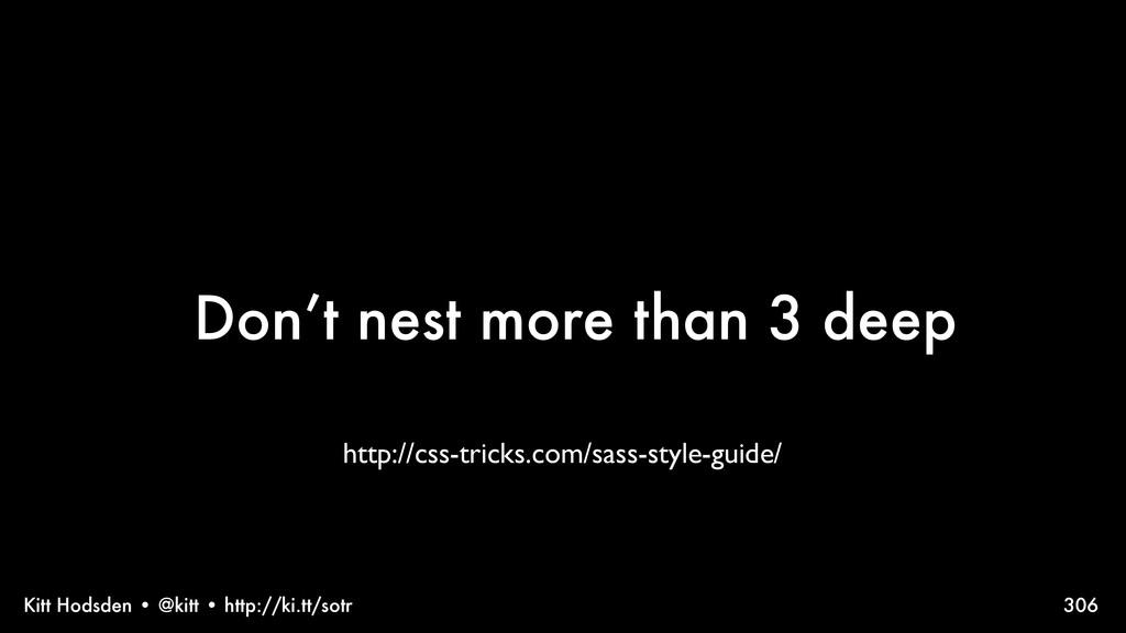 Kitt Hodsden • @kitt • http://ki.tt/sotr Don't ...