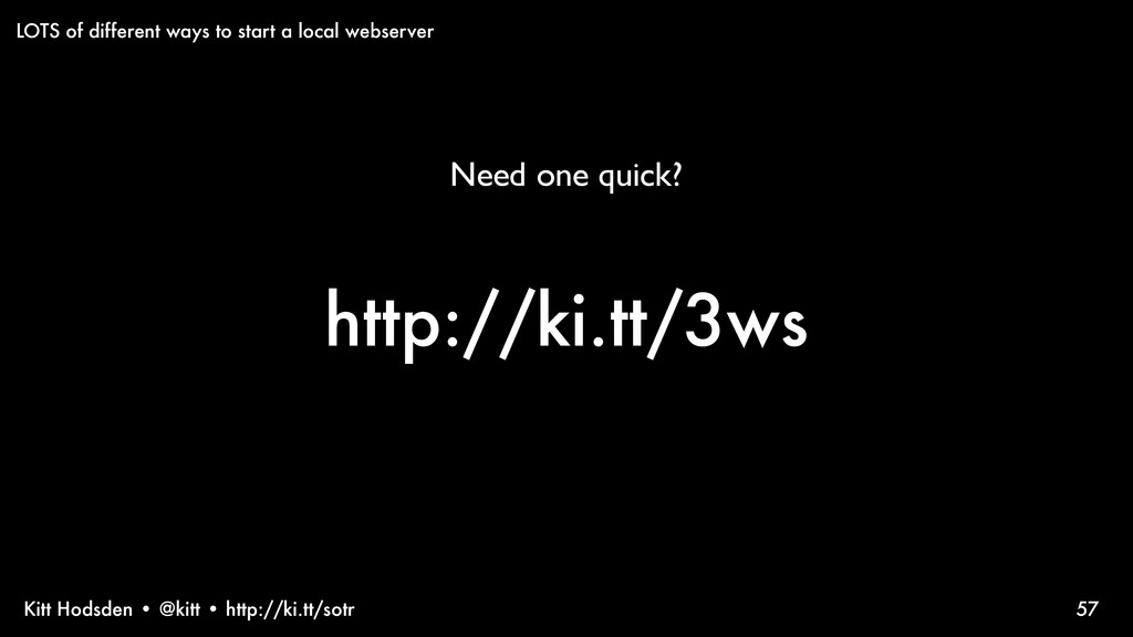 Kitt Hodsden • @kitt • http://ki.tt/sotr http:/...