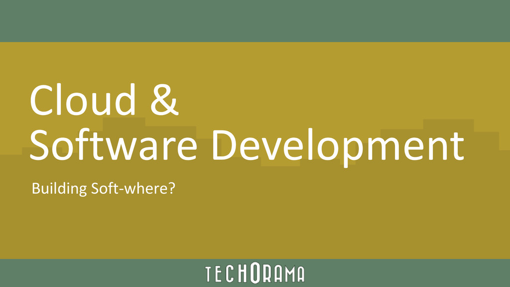 Cloud & Software Development Building Soft-wher...