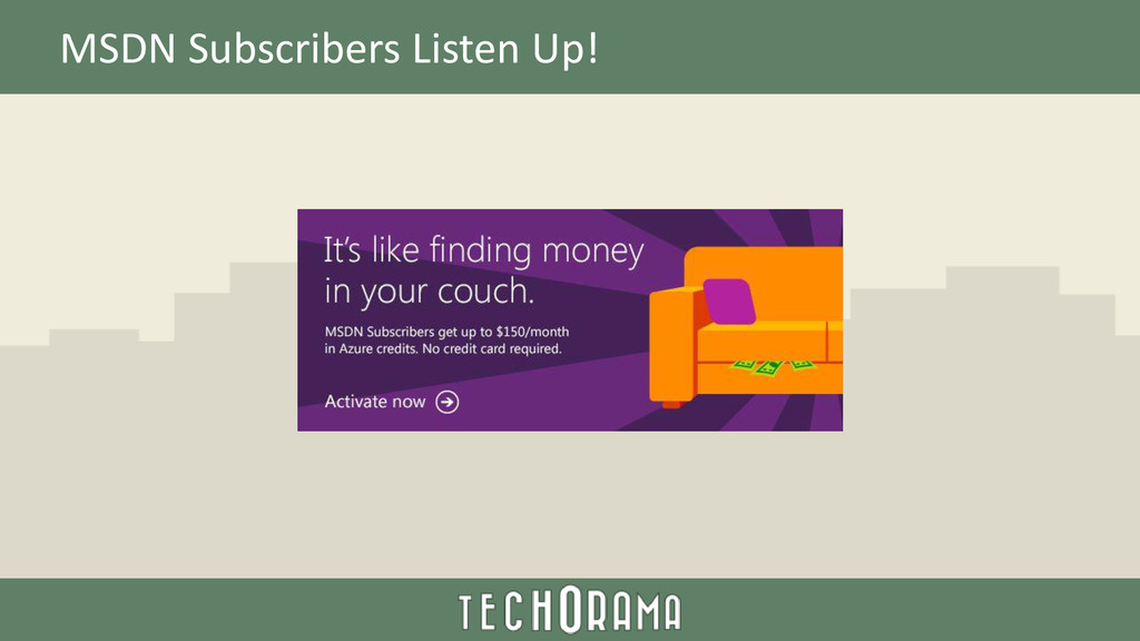 MSDN Subscribers Listen Up!