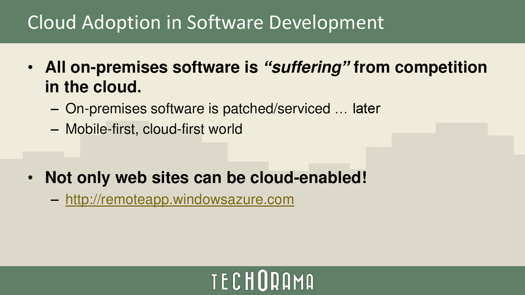 Cloud Adoption in Software Development • All on...