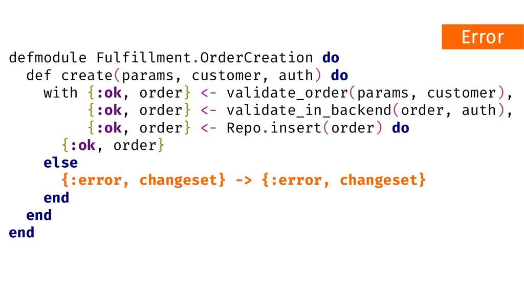 defmodule Fulfillment.OrderCreation do def crea...