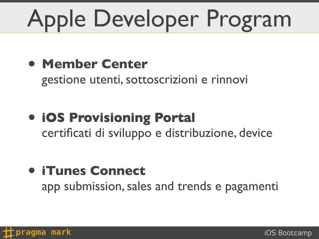 iOS Bootcamp Apple Developer Program • Member C...