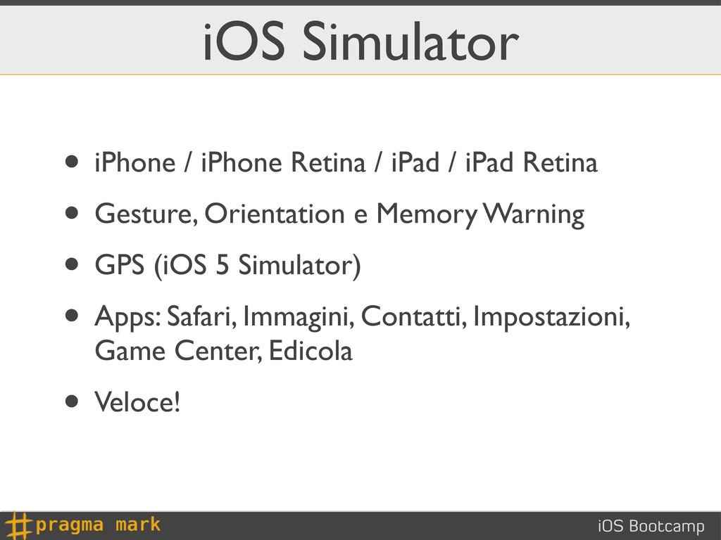 iOS Bootcamp iOS Simulator • iPhone / iPhone Re...