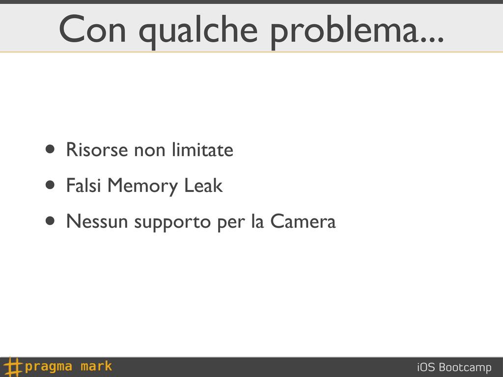 iOS Bootcamp Con qualche problema... • Risorse ...