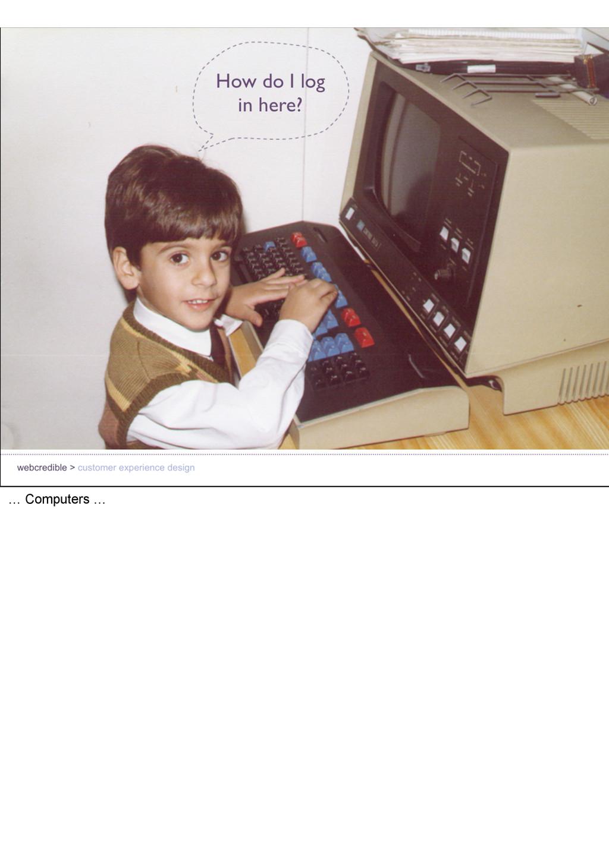 … Computers …