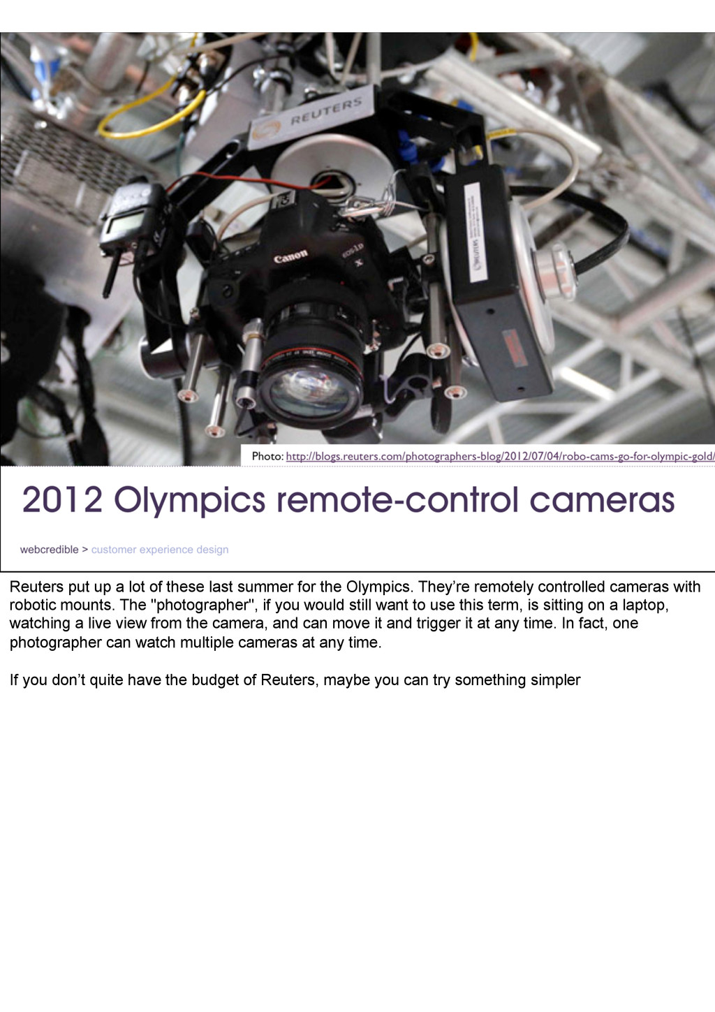 Reuters put up a lot of these last summer for t...