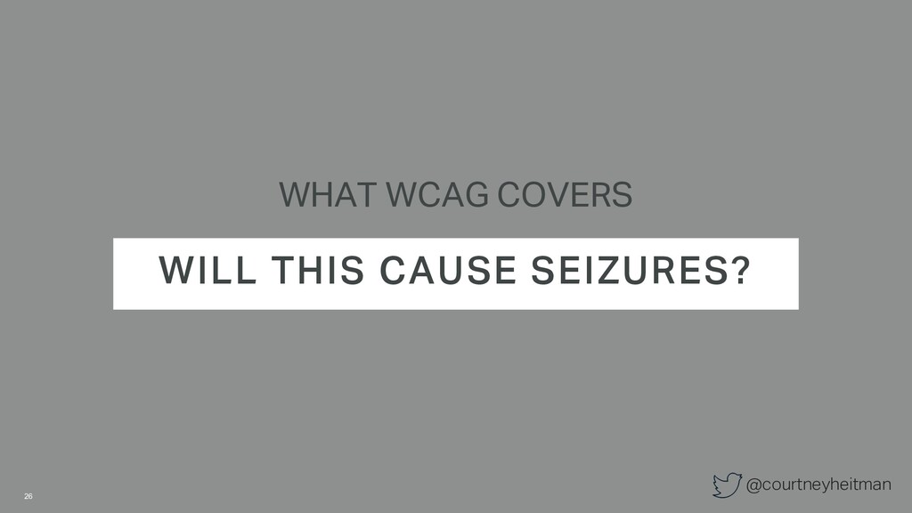 @courtneyheitman WHAT WCAG COVERS WILL THIS CAU...