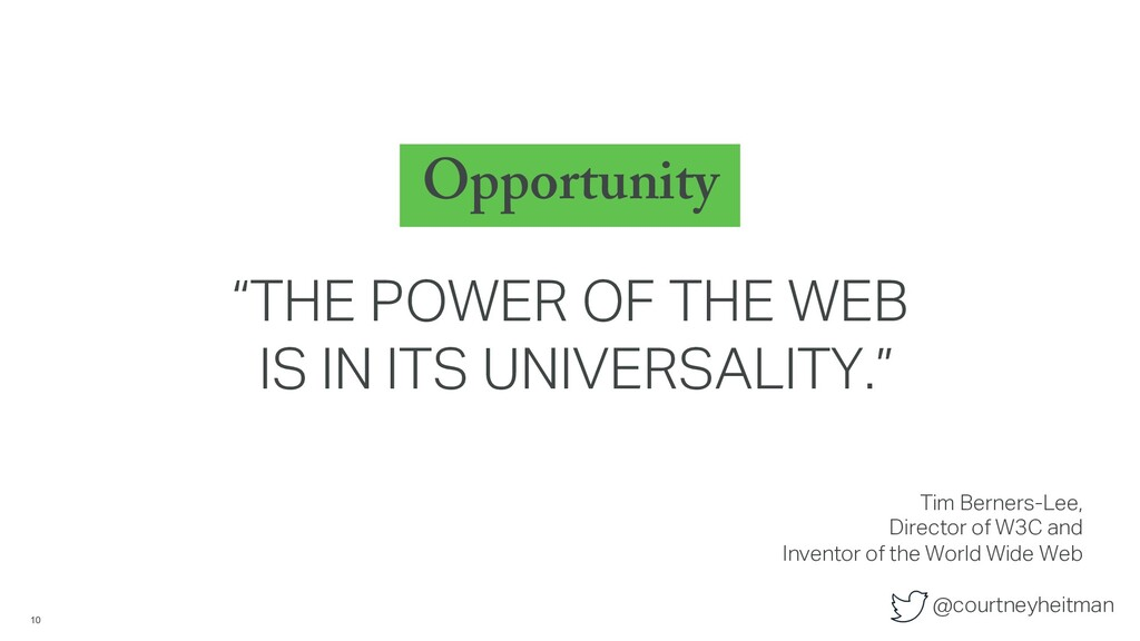 """@courtneyheitman Opportunity 10 """"THE POWER OF T..."""