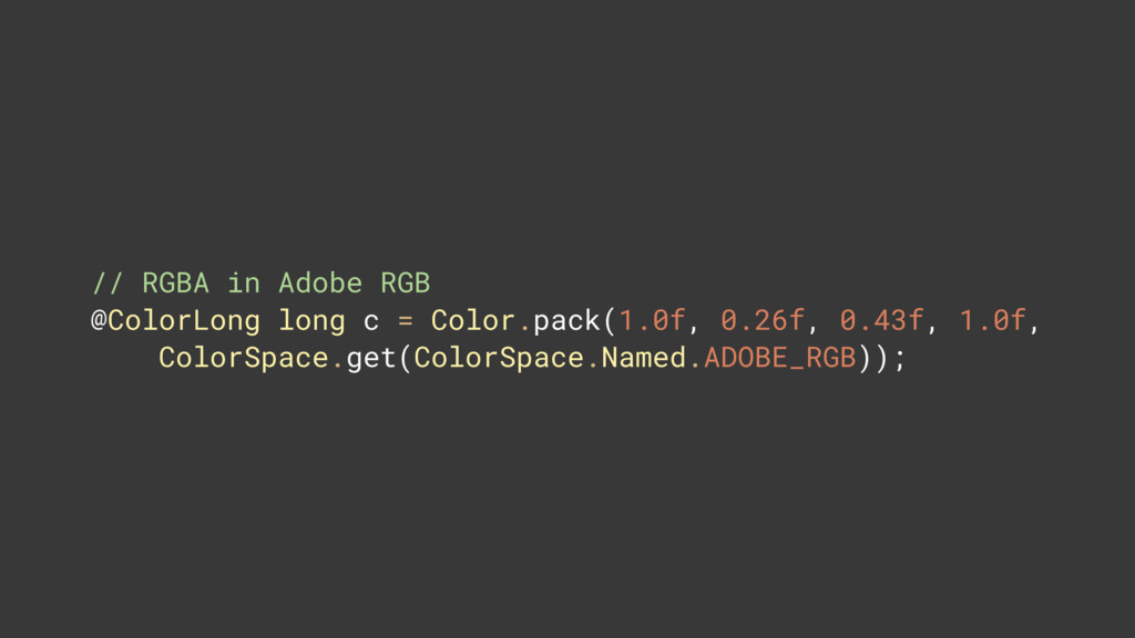 // RGBA in Adobe RGB