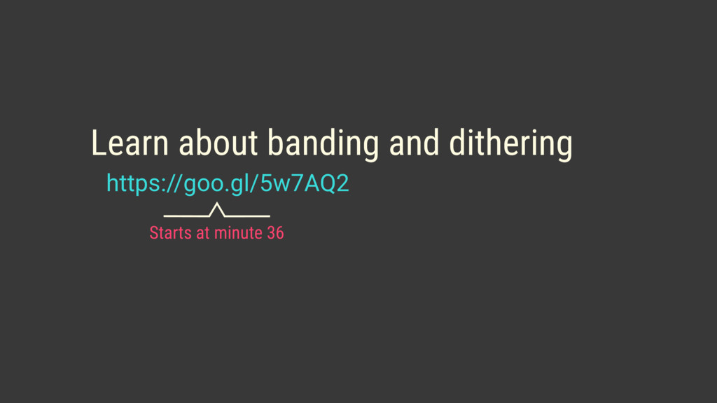 https://goo.gl/5w7AQ2 Learn about banding and d...