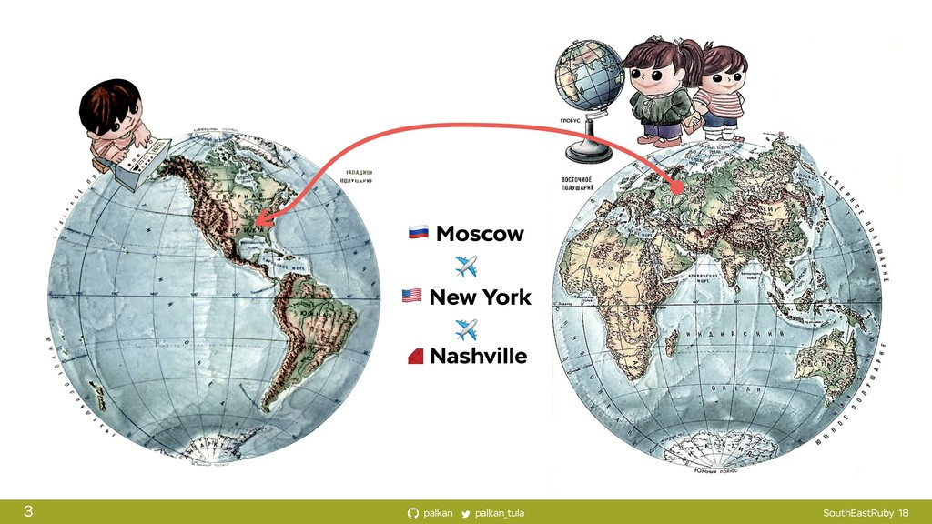 palkan_tula palkan SouthEastRuby '18 ! Moscow ✈...