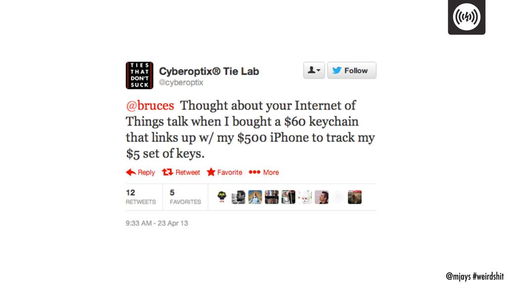 @mjays #weirdshit