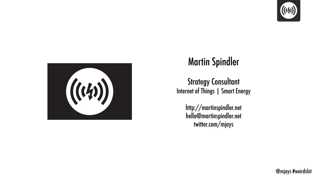 @mjays #weirdshit Martin Spindler Strategy Cons...