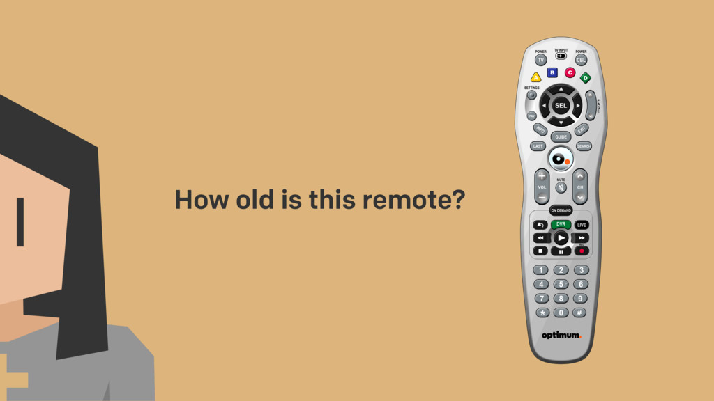 How old is this remote?