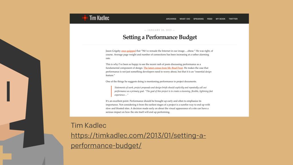 Tim Kadlec https://timkadlec.com/2013/01/settin...
