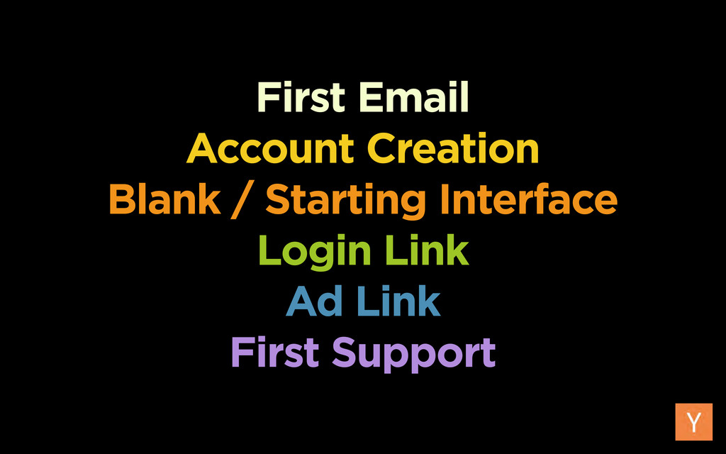 First Email Account Creation Blank / Starting I...