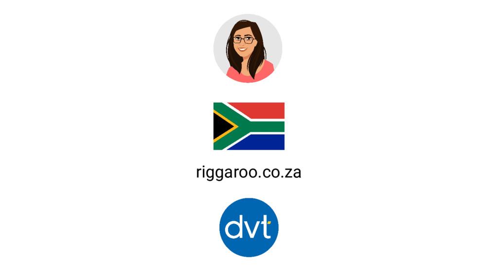 riggaroo.co.za