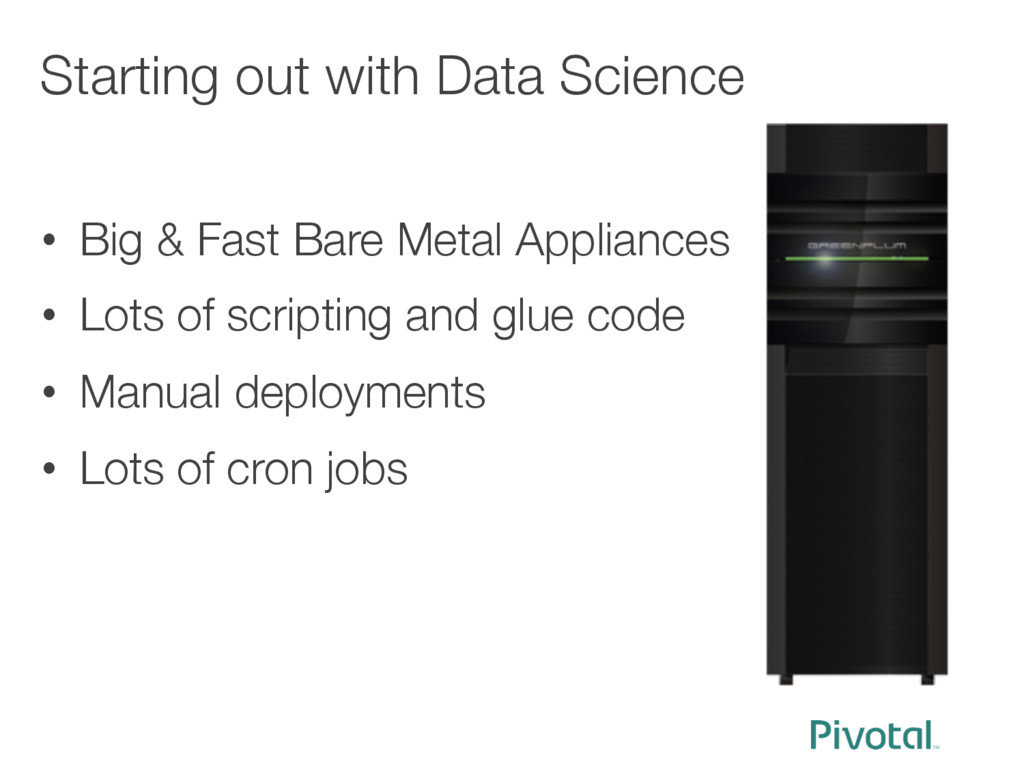 Starting out with Data Science   • Big & Fa...