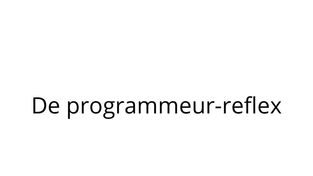 De programmeur-reflex