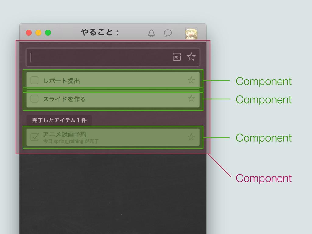 Component Component Component Component
