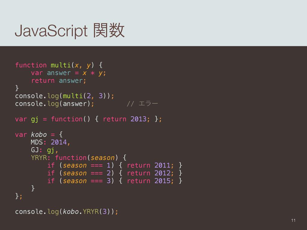 JavaScript ؔ function multi(x, y) { var answe...