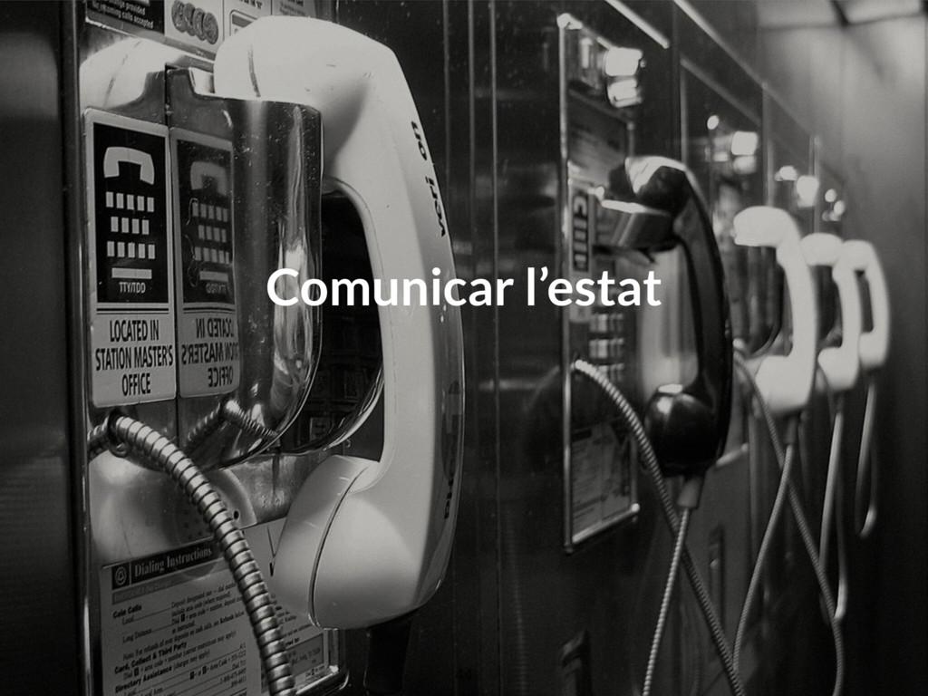 Comunicar l'estat 44
