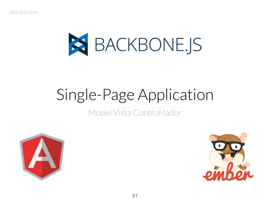 Single-Page Application Model Vista Control·lad...