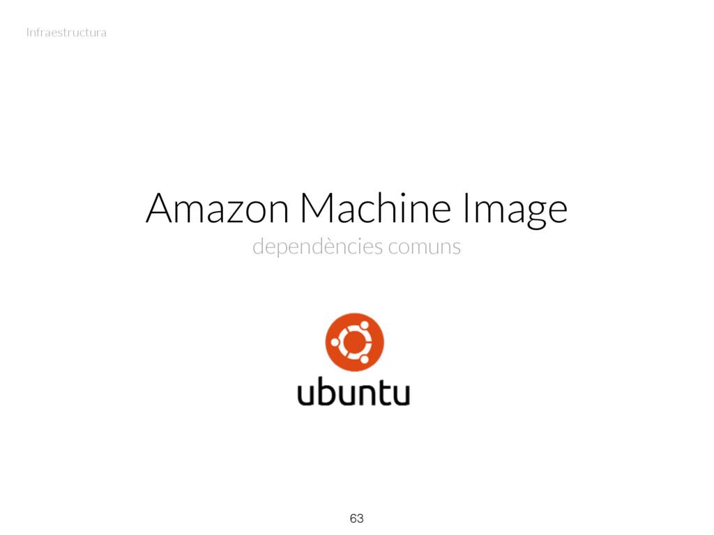Amazon Machine Image dependències comuns 63 Inf...