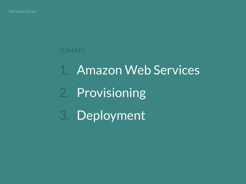1. Amazon Web Services 2. Provisioning 3. Deplo...