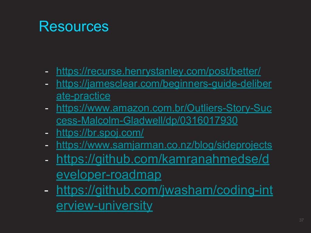 Resources 37 - https://recurse.henrystanley.com...