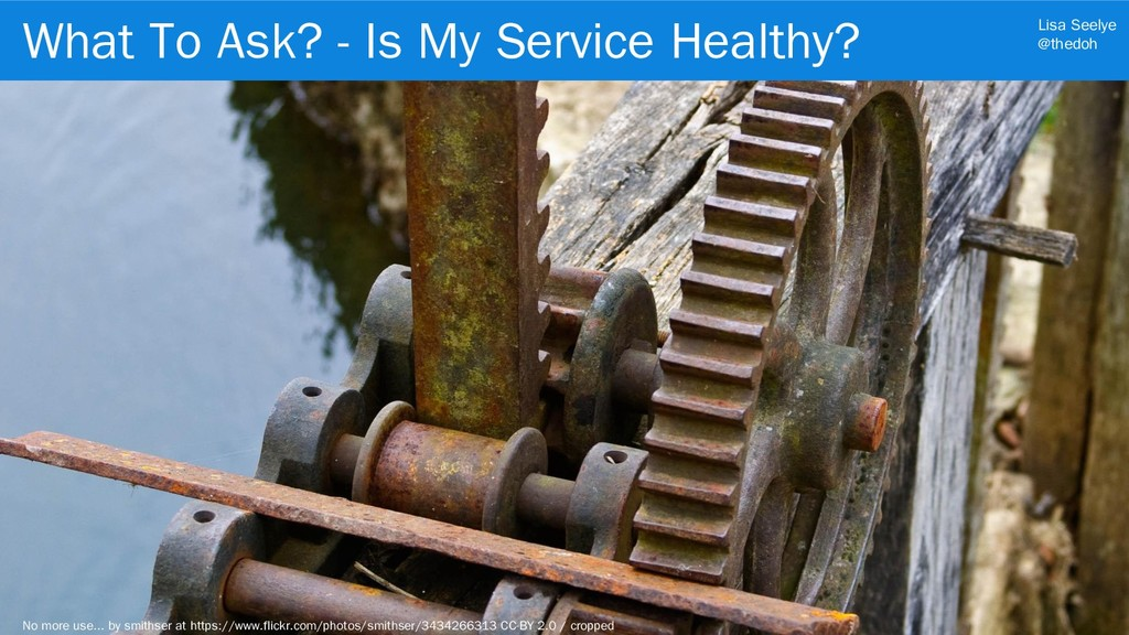 Lisa Seelye @thedoh What To Ask? - Is My Servic...
