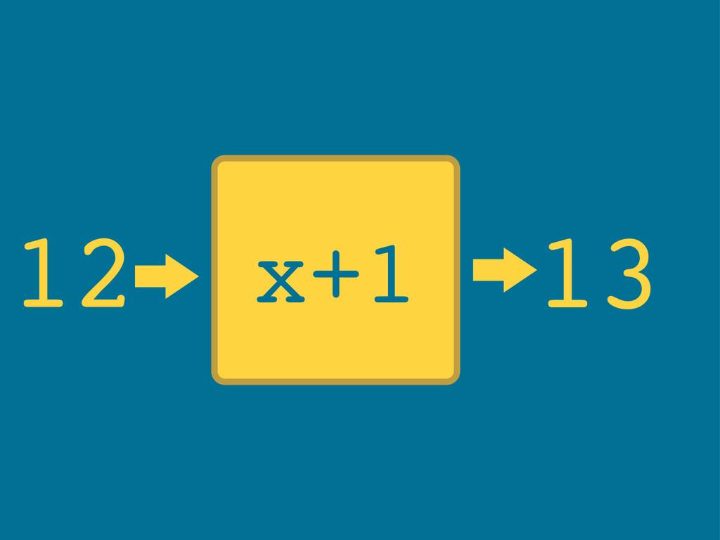 x+1 12 13