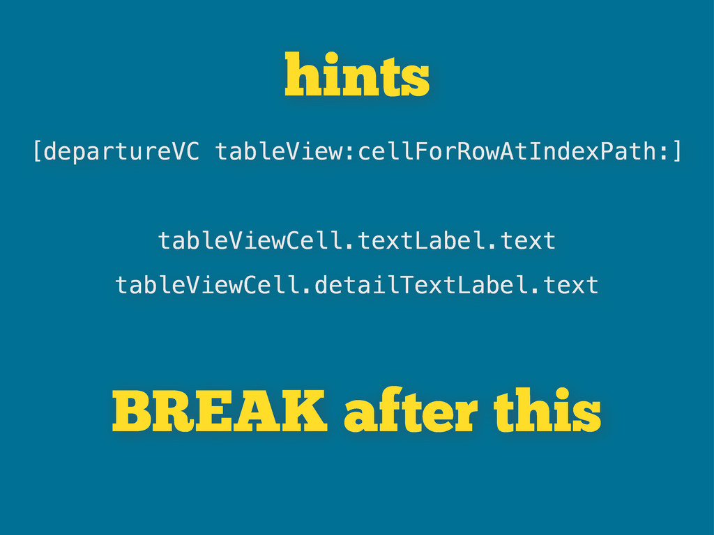 hints [departureVC tableView:cellForRowAtIndexP...