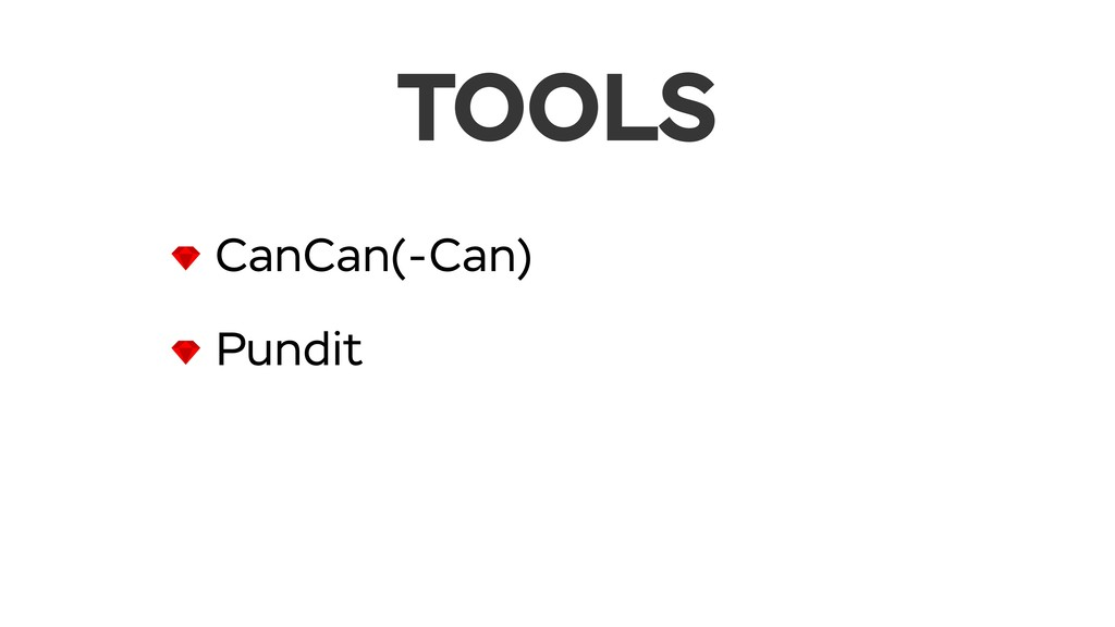 TOOLS CanCan(-Can) Pundit