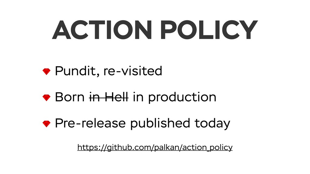 Pundit, re-visited Born in Hell in production P...