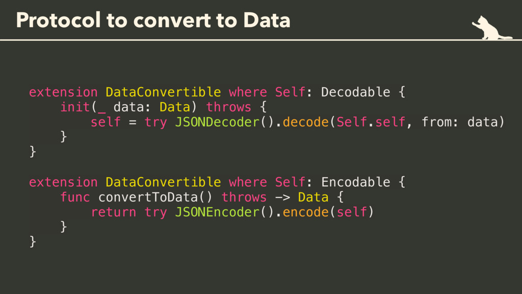 Protocol to convert to Data extension DataConve...